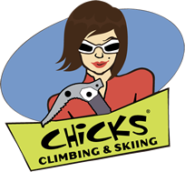 Chicks Rock Climbing