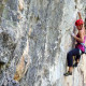 learn how to sport climb outdoors in Colorado