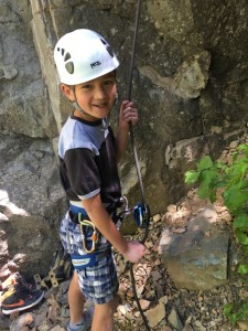 Kids at the voyager youth camp call the ATC the old fashion belay device.