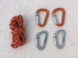 Sterling cord with 4 locking miners