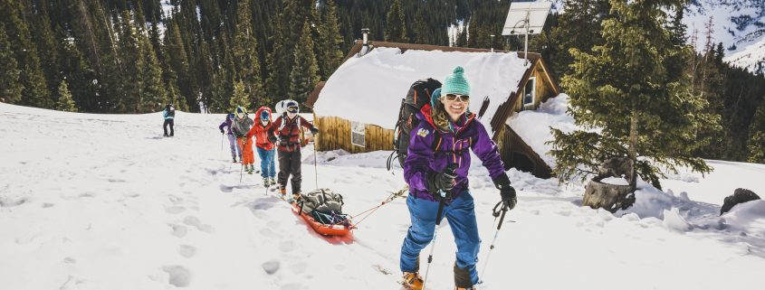 intro to backcountry skiing and splitboarding