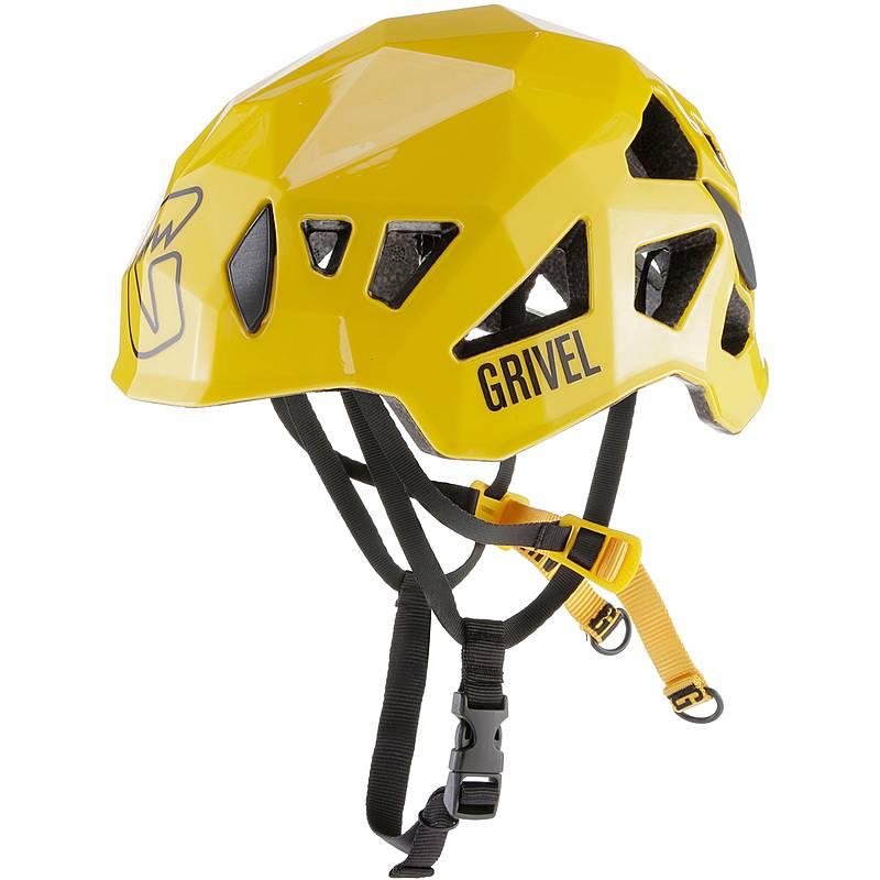Grivel's Stealth RECCO in Yellow. It also comes in Titanium, Carbon and White.©Grivel stock photo