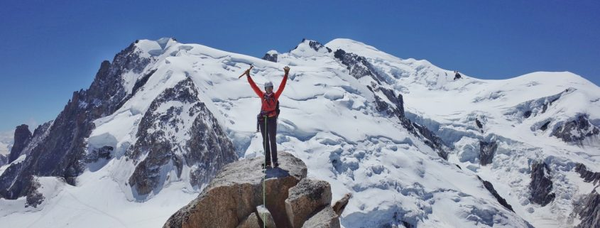 Chamonix summit