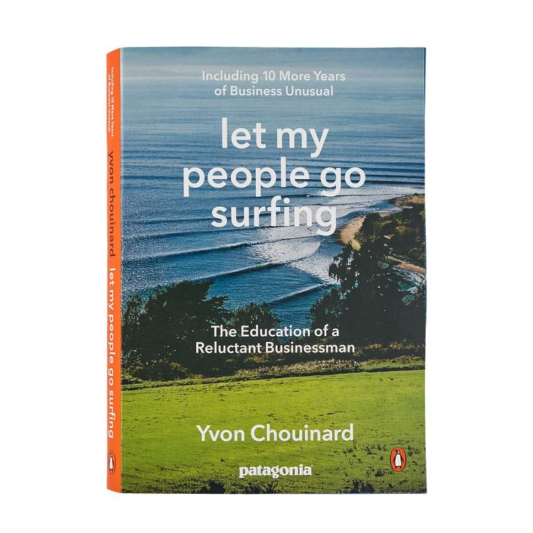 "Cover of ""let my people go surfing"" by Yvon Chouinard"