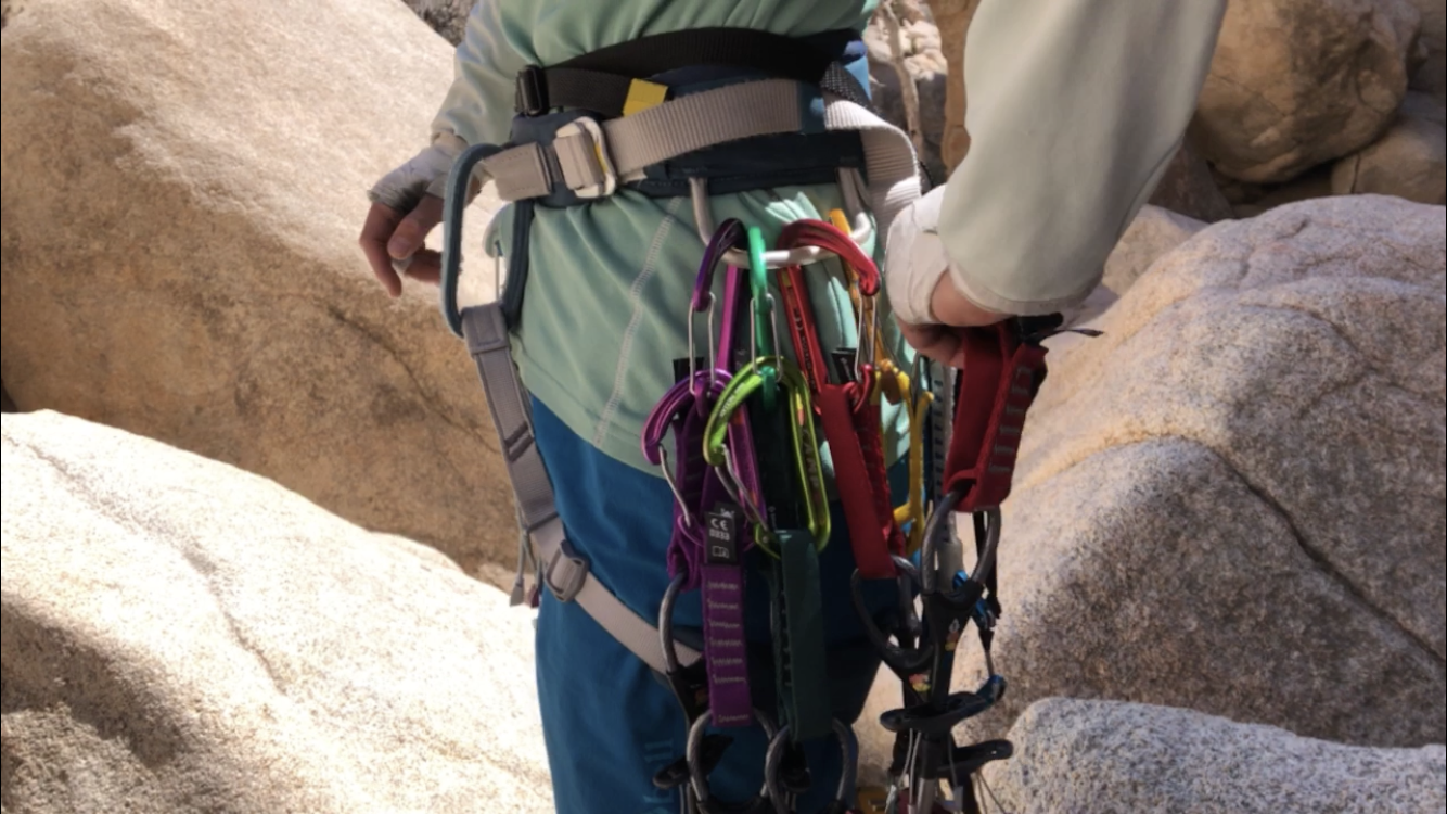 save room on your gear loops with the waterfall method