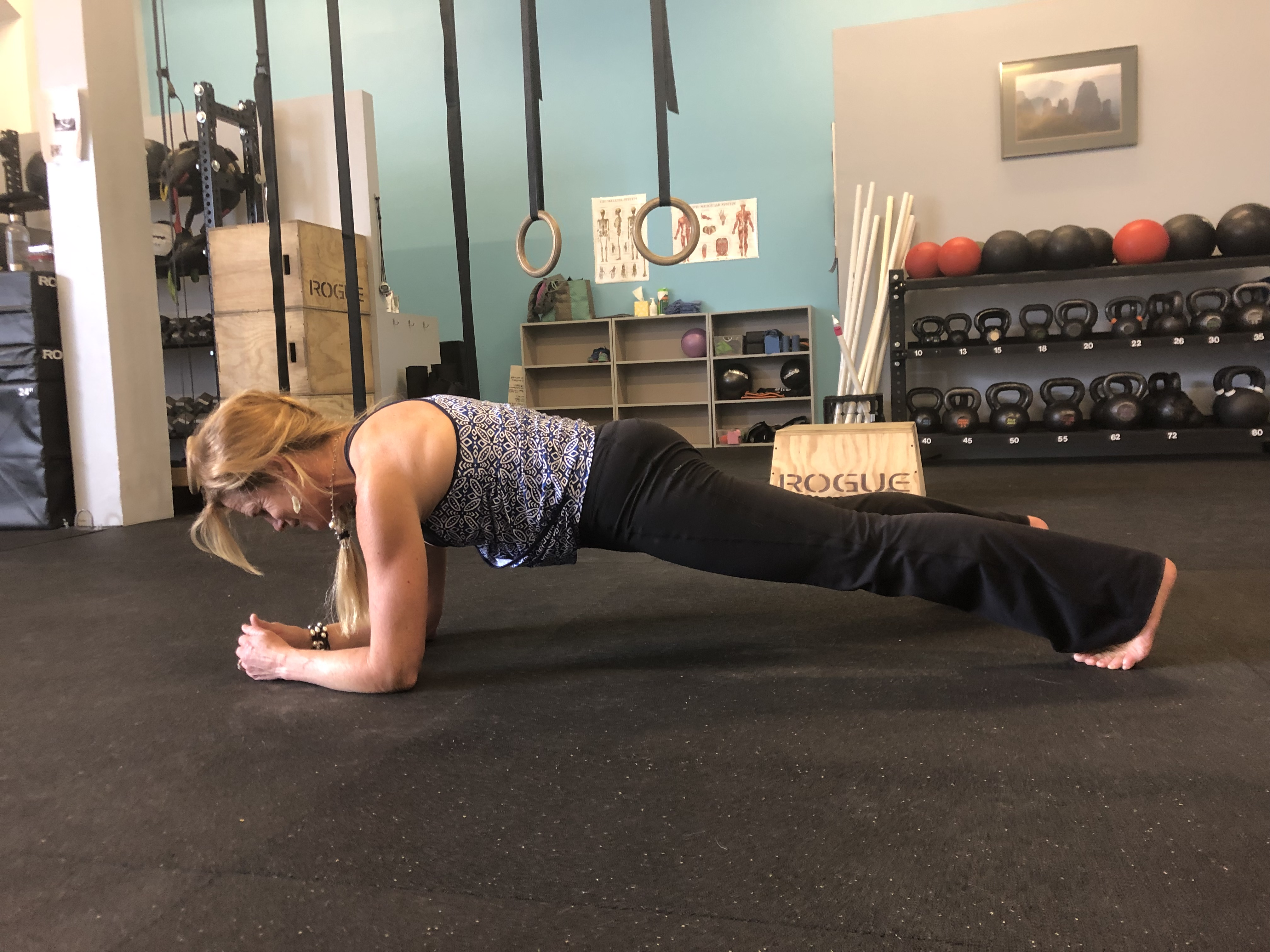 basic plank demonstration