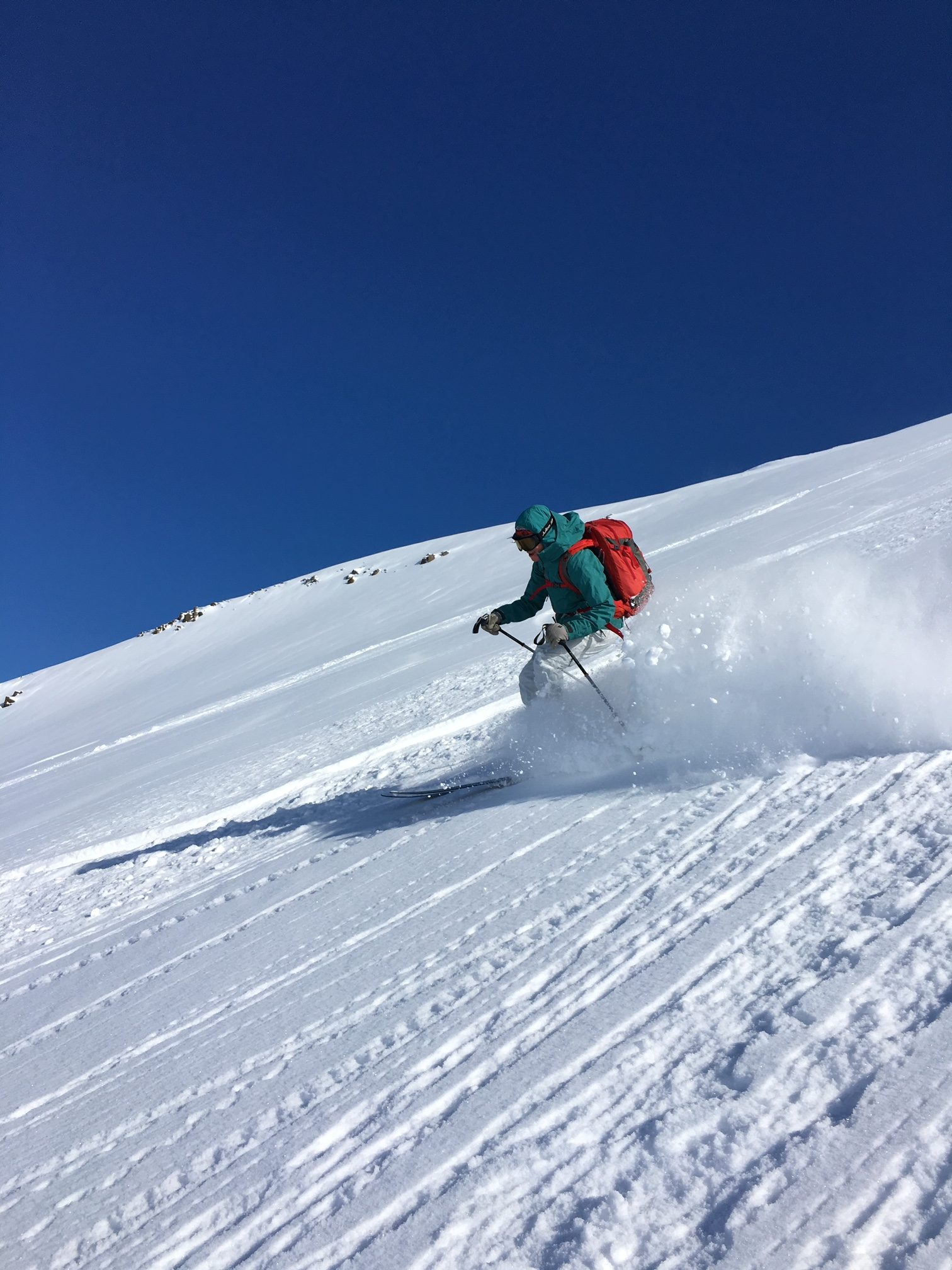strength Training for backcountry skiing helps Angela Hawse make perfect turns in Iceland