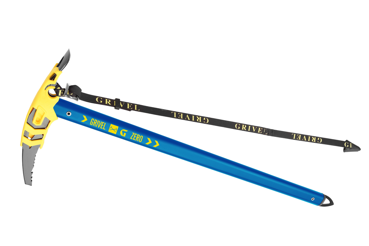 Grivel G Zero Mountainneering axe available in 5 greatcolours!©Grivel