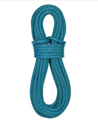 Stock image of Sterling Quest rock climbing rope
